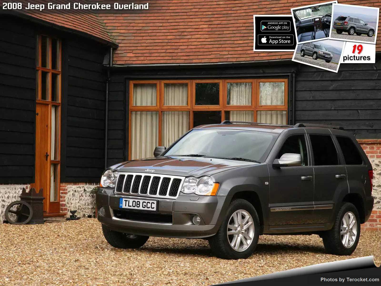Hình ảnh xe ô tô Jeep Grand Cherokee Overland UK Version 2008 & nội ngoại thất