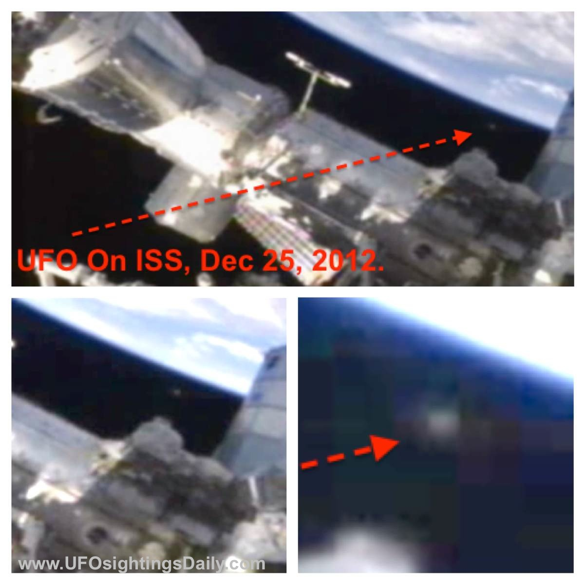 UFO SIGHTINGS DAILY: UFO Seen Near International Space ...