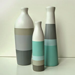 Ma Bicyclette - Buy Handmade - Ceramics - Shade on Shape - 3 Vases