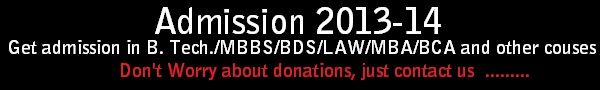 admissions 2013-14