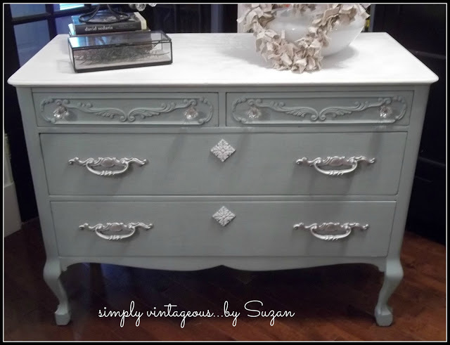 chalk paint, custom color, creating, duck egg, old white, dresser, princess, antique