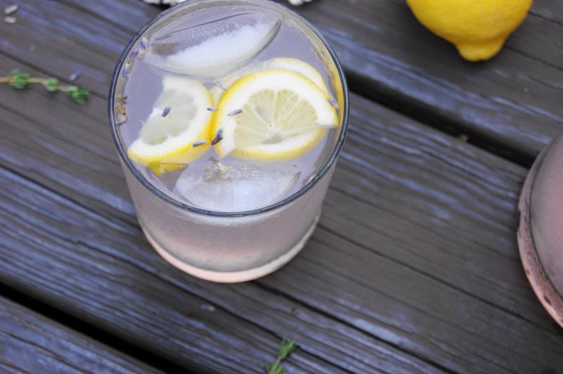 Lavender Lemonade - The Kitchen is My Playground