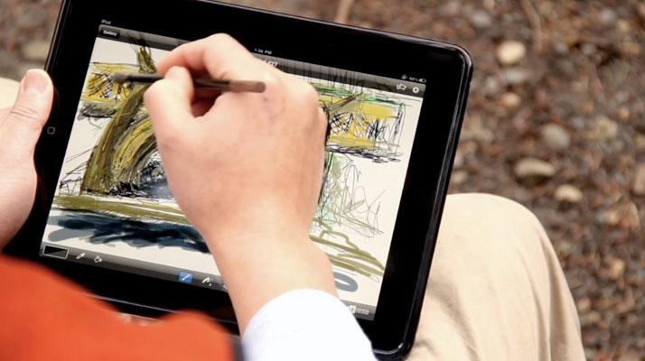 Что такое рисовать на планшете видео