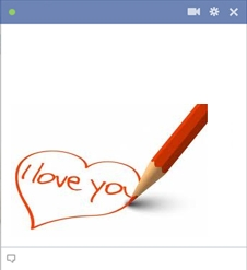 Love Pencil Emoticon
