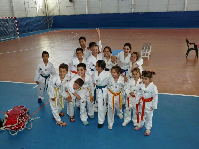 Escuela de taekwondo hansu resultados deo open de yuncos for Gimnasio yuncos