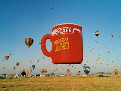 Nescafe Cup Special Shape Balloon