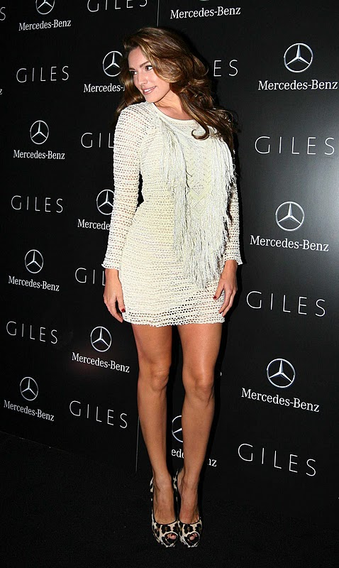 Kelly Brook – Giles Spring/Summer 2012 Collection Party