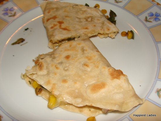 prepare Quesadilla at home
