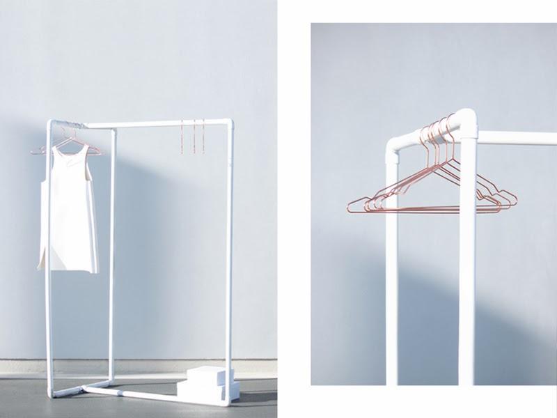 Aestheticsliving alternativ garderobe ivania carpio for Garderobe 2m