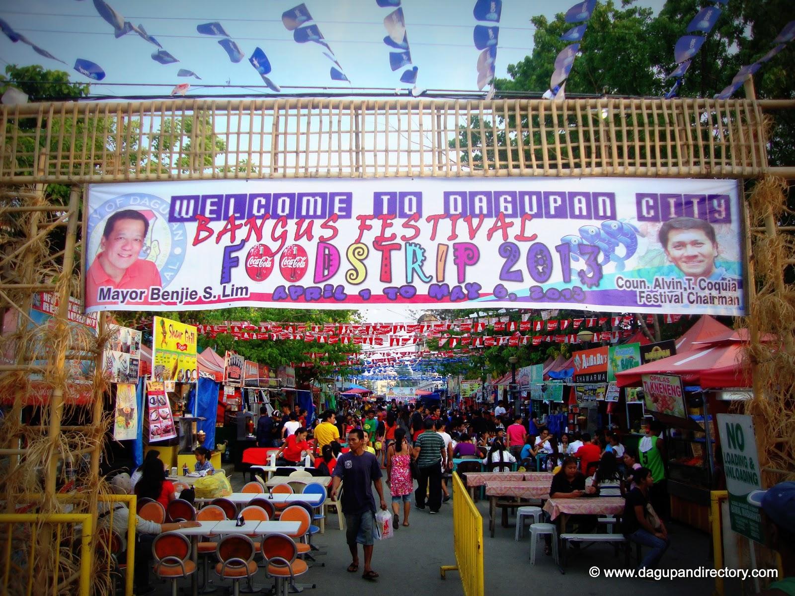 Dagupan City Bangus Festival Foodstrip 2013