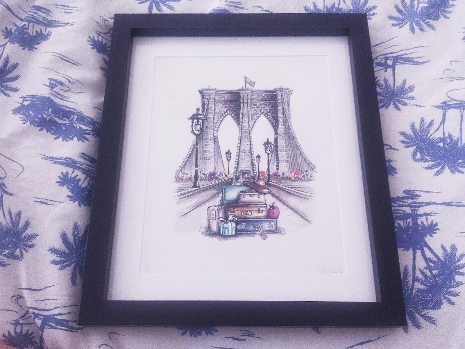 Natalie Elson Paint Pallet Framed Artwork