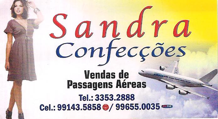 SANDRA CONFECÇÕES E VENDA DE PASSAGENS AÉREAS
