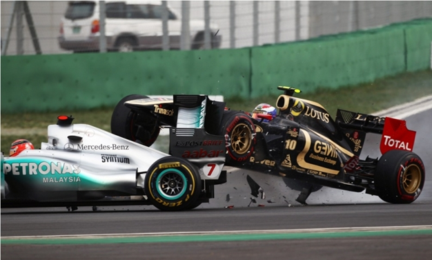 Accidente de F1
