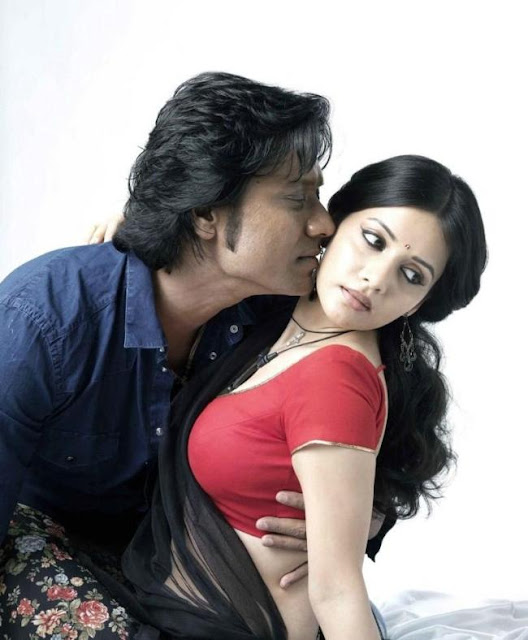 ... Movie Actress Savithri and Tamil Actor SJ Surya hot still Pictures