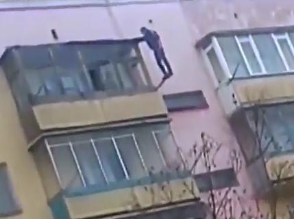 Increible Suicidio en Rusia