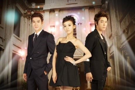 Super Junior Siwon and Donghae with Ivy Chen on ABS-CBN latest Asianovela 'Skip Beat'