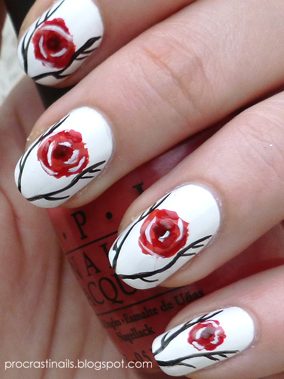 Game of Thrones The Stag and The Rose Mani - ProcrastiNails