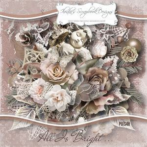 """All Is Bright"" by Ilonka´s Scrapbook Designs - mein Layout"