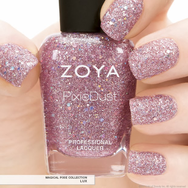 First Look: Zoya PixieDust in Lux Spring 2014 Magical Pixie ...