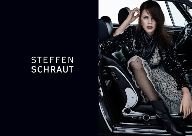 Steffen Schraut Fall 2015 Campaign starring Antonia Wesseloh