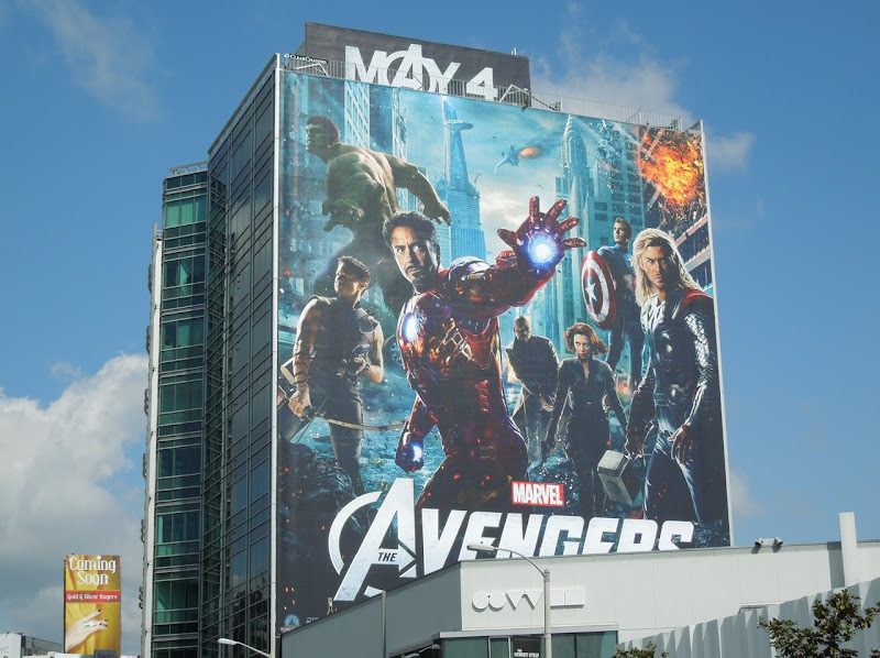 Marvel The Avengers billboard