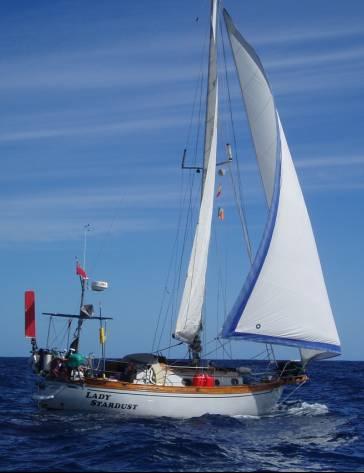 Gambar Perahu Layar Yacht lagi keleum