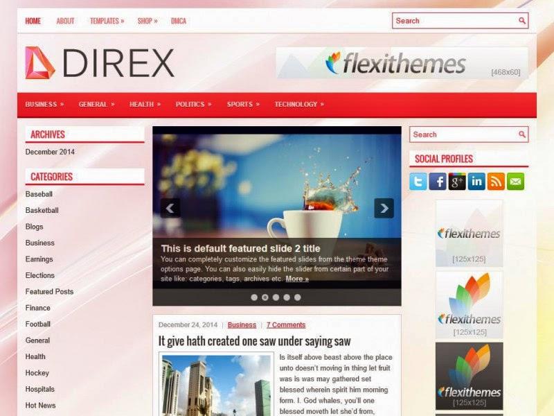 Direx - Free Wordpress Theme