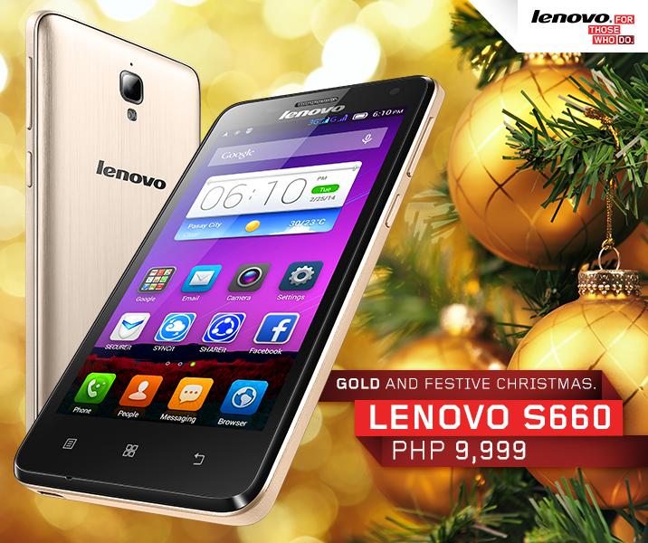 Gold Lenovo S660