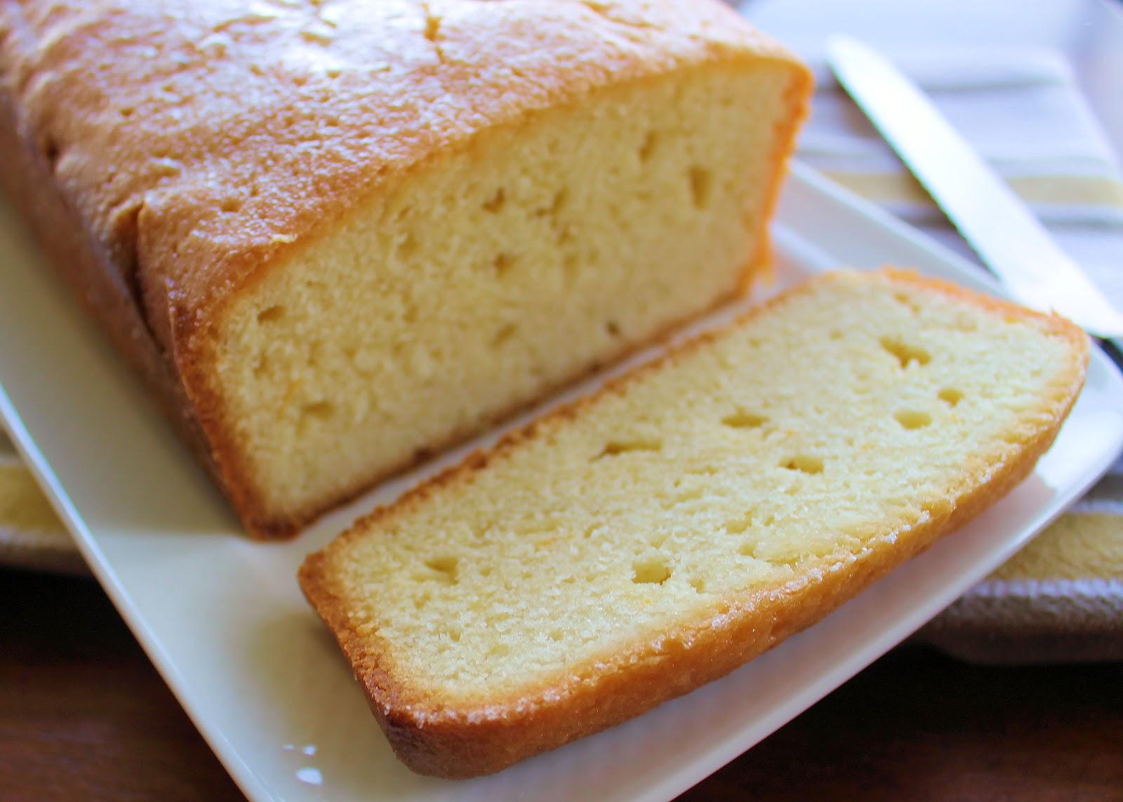 Meyer Lemon pound cake | Ingredients for a 1-pound loaf