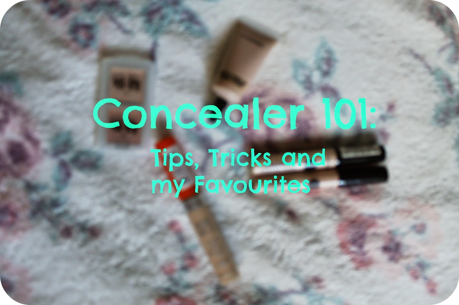 Concealer 101 with Rimmel, Collection, MAC and Benefit
