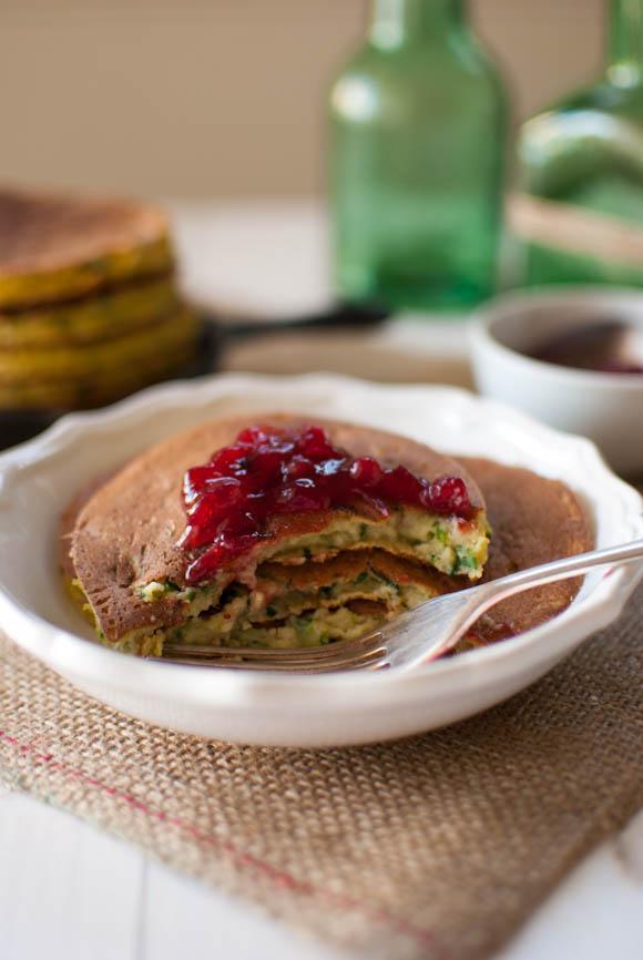 Scandi Home: Zucchini and Ricotta Pancakes
