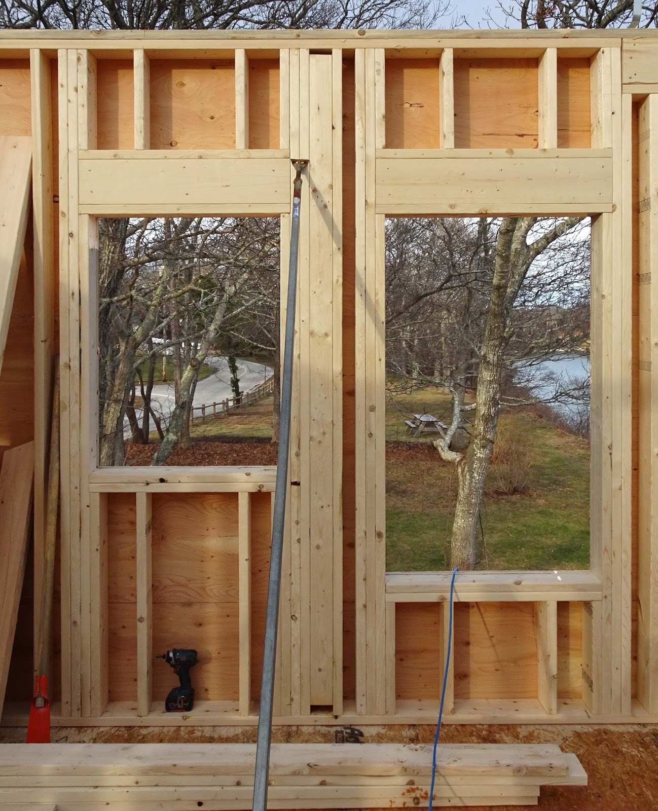 Joe 39 s retirement blog the second floor walls for What insulation to use in 2x6 walls