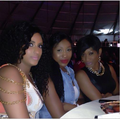 Oge Okoye, Juliet Ibrahim & Ebube Nwagbo spotted together