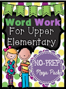 Word Work for Upper Elementary