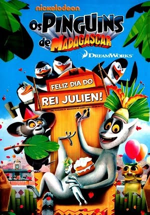 Os Pinguins De Madagascar: Feliz Dia Do Rei Julien Dual Audio DVDRip