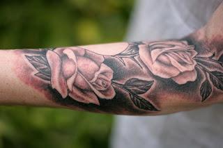 Rose Arm Tattoos