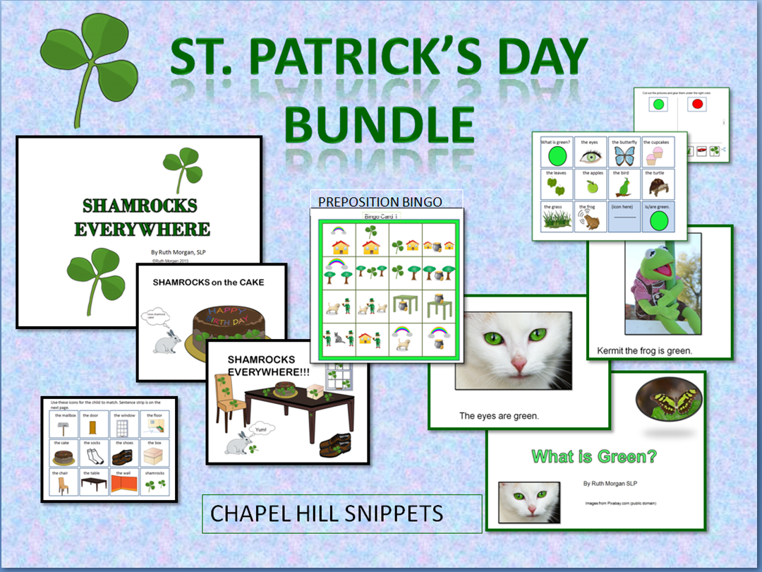 chapel hill snippets st patrick u0027s day materials adapted books