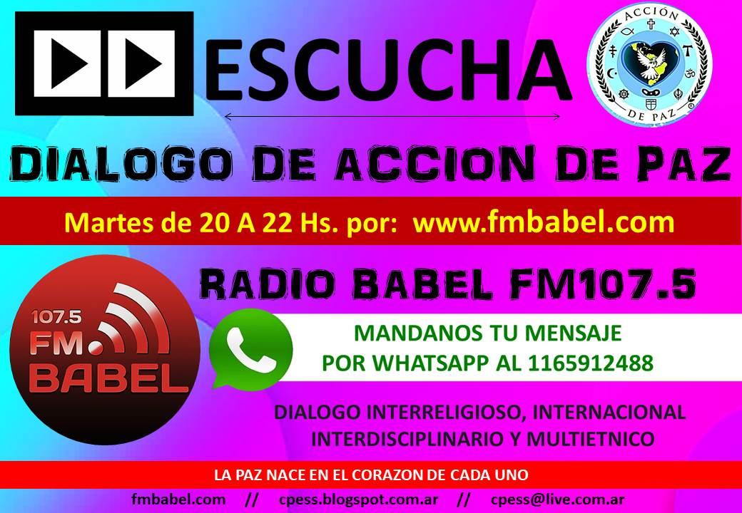 "Programa de Radio ""Dialogo de Accion de Paz"