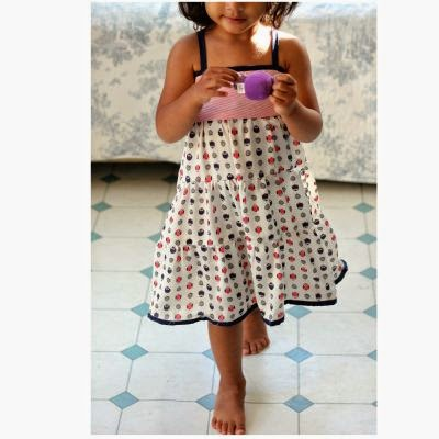 girl tier dress free pattern