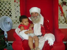Minha 1º Visita a Papai Noel
