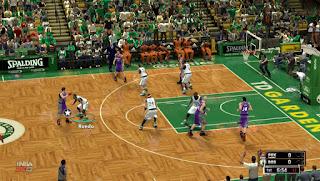 NBA 2K13 Boston Celtics HD Court Patch