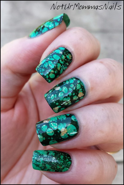 Tuquoise Nails