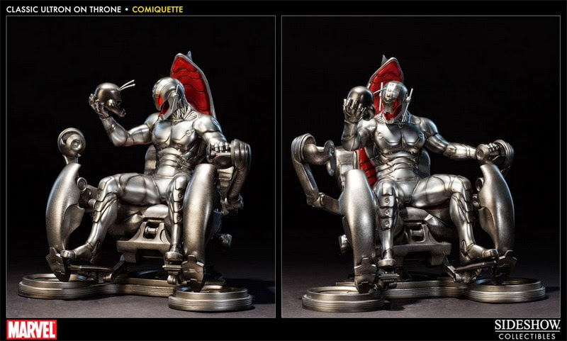 Ultron throne polystone statue