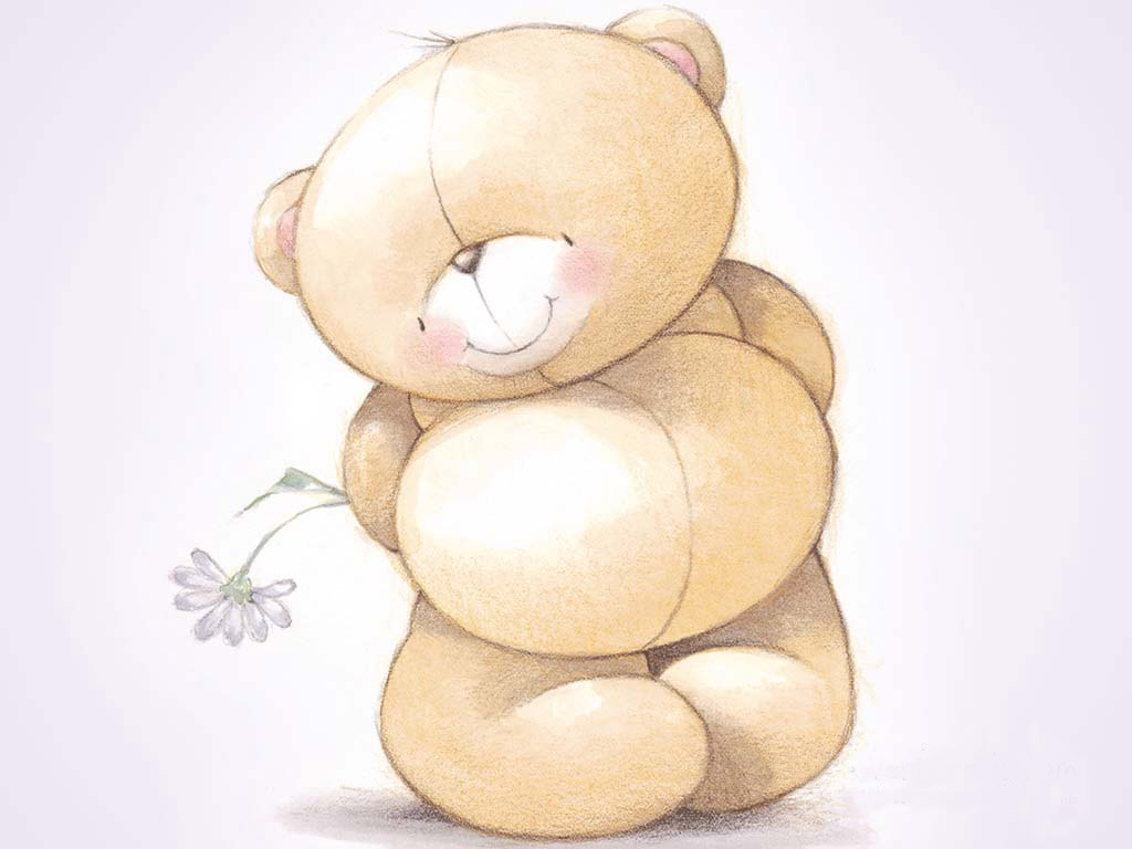 cute teddy bears cartoon