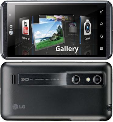 LG Optimus 3D mobilni telefon Android