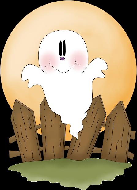 halloween ghosts clipart