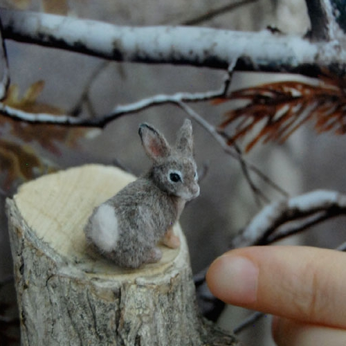 20-Cottontail-Rabbit-ReveMiniatures-Miniature-Animal-Sculptures-that-fit-on-your-Hand-www-designstack-co