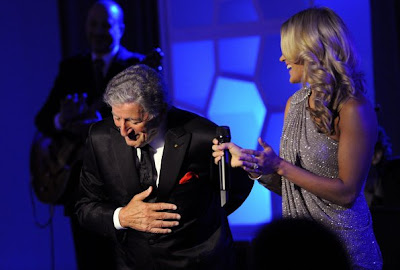 Carrie Underwood and Tony Bennett on Blue Bloods