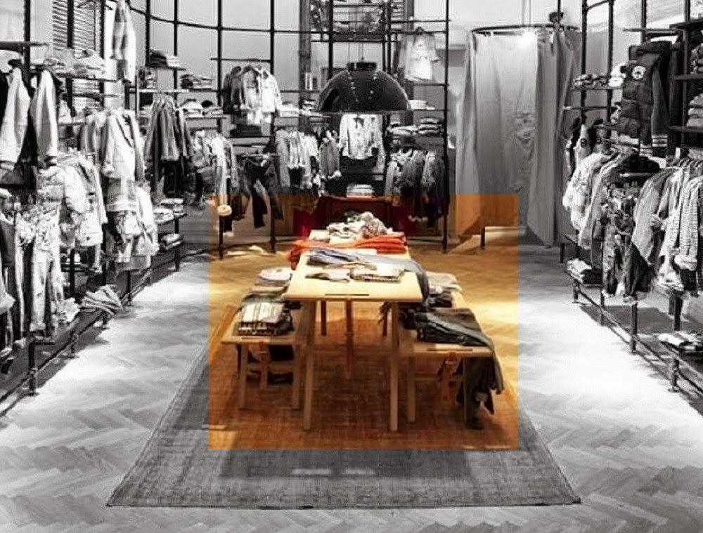 winkelinrichting-houten-tafel-en-banken-met-leren-riemen