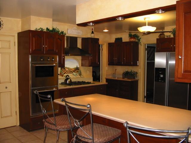 Home interior design decor tuscan style kitchens for Interior visions designs